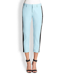 Cropped straight leg pants medium 50980