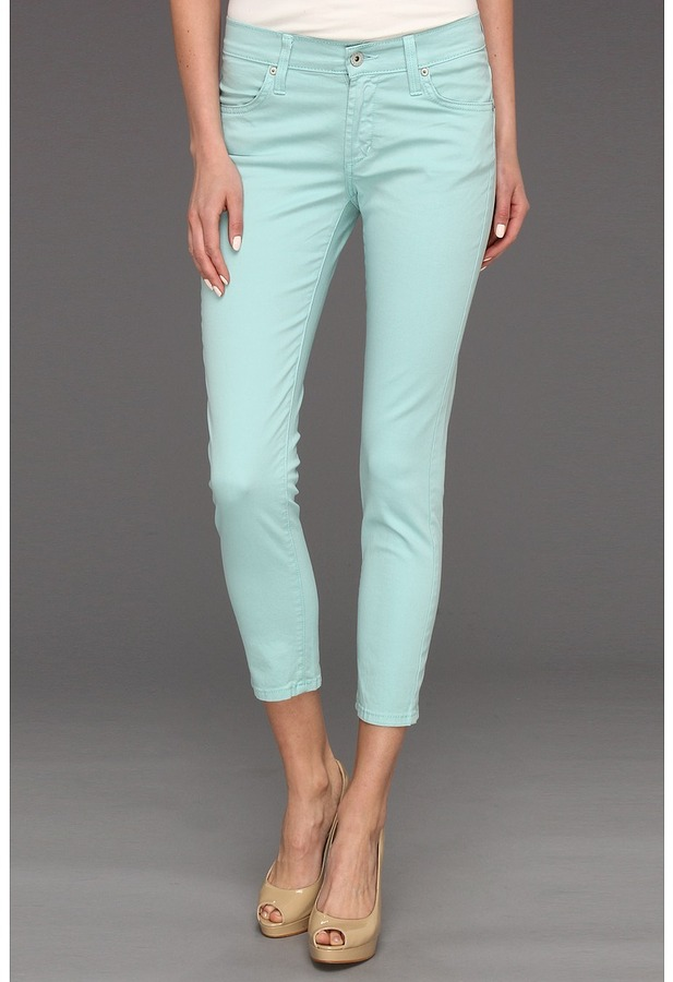 James Jeans Twiggy Cropped Legging In Sea Spray | Where to buy ...