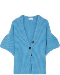 Cashmere cardigan light blue medium 3947192