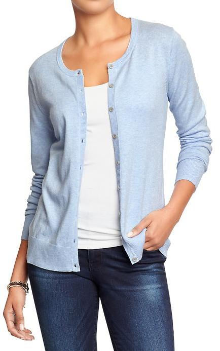 Old Navy Crew Neck Cardigans | Where to buy & how to wear