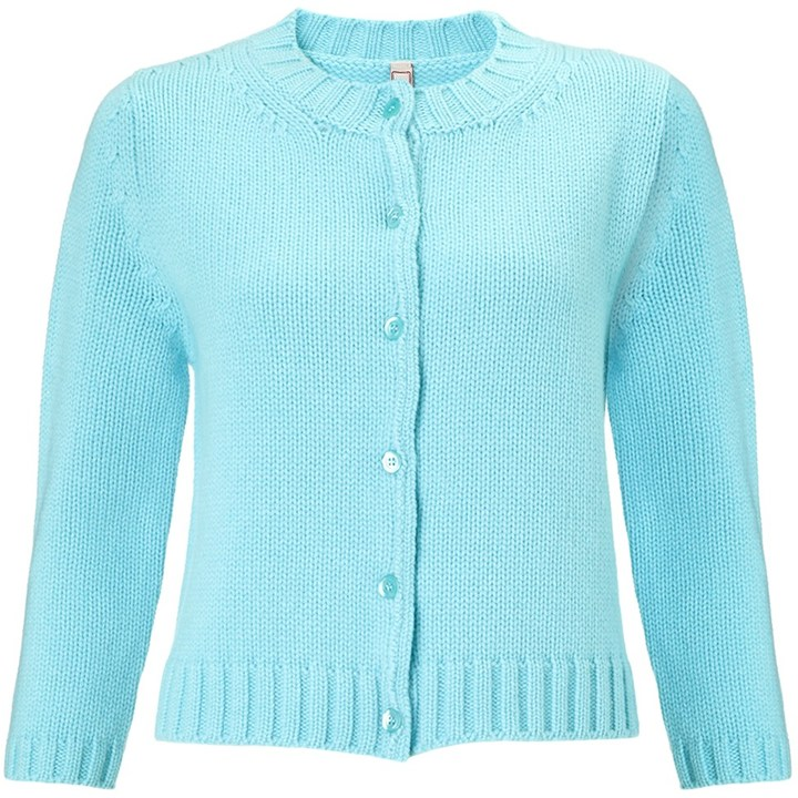 Antonio Marras Light Blue Cashmere Cardigan | Where to buy & how ...