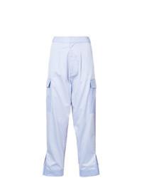 Light Blue Cargo Pants