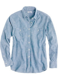 J.Crew Japanese Selvedge Chambray Shirt