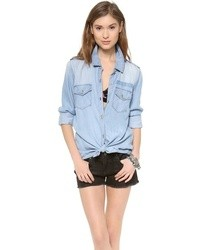 Rails Oversized Denim Shirt