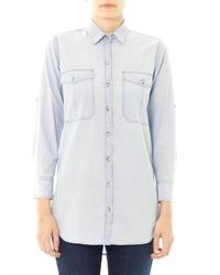 MiH Jeans Simple Chambray Shirt