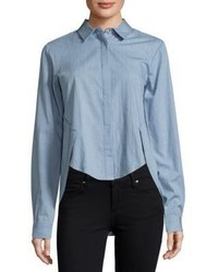 Style Stalker Confidence Chambray Hi Lo Shirt