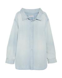 Balenciaga Cotton Chambray Shirt