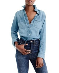 J.Crew Everyday Chambray Shirt