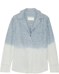 Rag & Bone Leeds Dgrad Cotton Chambray Shirt