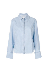 MARQUES ALMEIDA Marquesalmeida Distressed Chambray Shirt