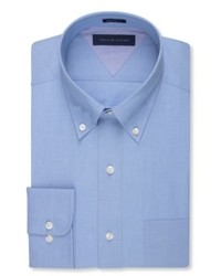 Tommy Hilfiger Slim Fit Chambray Solid Dress Shirt