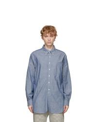 Engineered Garments Blue Chambray 19th Century Bd Shirt