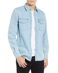 Lacoste Blue Pack Regular Fit Chambray Shirt