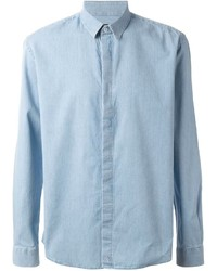 Classic chambray shirt medium 212066