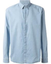 Classic chambray shirt medium 212066