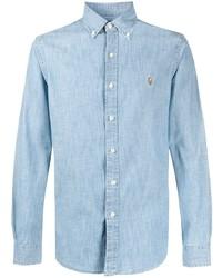 Ralph Lauren Cotton Logo Embroidered Shirt