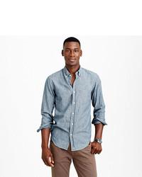 Indigo japanese chambray shirt medium 206292