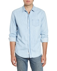 Frank & Eileen Luke Regular Fit Chambray Button Up Sport Shirt