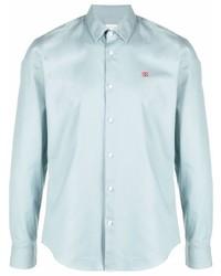 Sandro Paris Seamless Chambray Shirt