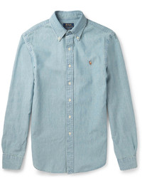 Polo Ralph Lauren Slim Fit Washed Cotton Chambray Shirt