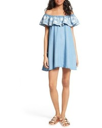 Rebecca Minkoff Dev Off The Shoulder Minidress