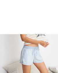 aerie Rie Chambray Short