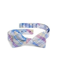Southern Tide Boca Vista Plaid Silk Bow Tie