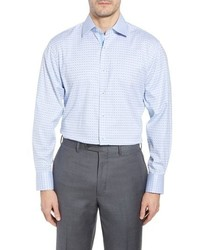 English Laundry Check Regular Fit Dress Shirt
