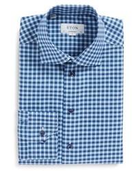 Contemporary fit check dress shirt medium 4911882