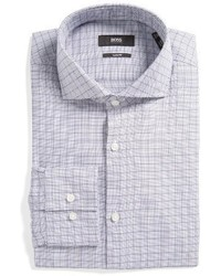 Jason slim fit check dress shirt medium 1161745