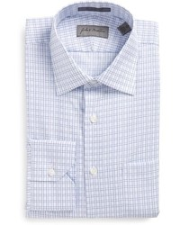 John W Nordstrom Traditional Fit Check Dress Shirt