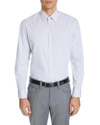 Emporio Armani Modern Fit Stretch Check Dress Shirt