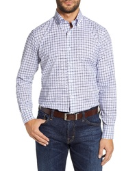 PETER MILLAR COLLECTION Summer Chambray Check Sport Shirt