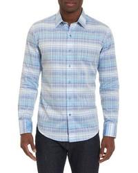 Classic fit check sport shirt medium 4380161