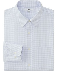 Uniqlo Easy Care Checked Long Sleeve Shirt