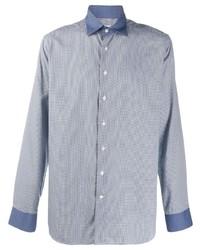 Etro Micro Check Shirt