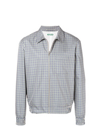 Kenzo Checked Shirt Jacket