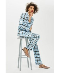 Topshop Check Trousers