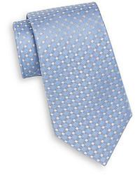 English Laundry Windowpane Check Silk Tie