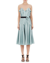 Lanvin Silk Sleeveless Dress