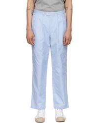 Junya Watanabe Blue Cotton Trousers