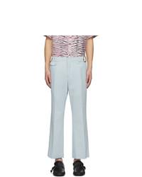 Sies Marjan Blue Crepe Vice Trousers