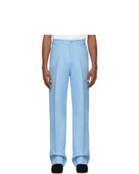 Random Identities Blue High Rise Five Pocket Trousers