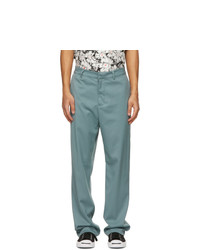 Noon Goons Blue Twill Ahmed Trousers