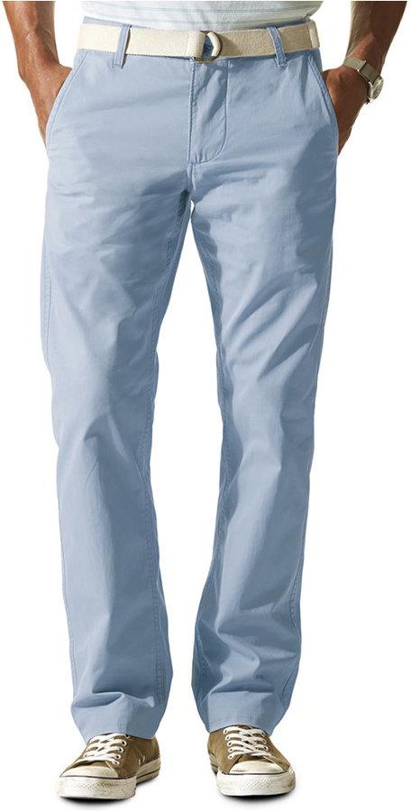 Light Blue Khaki Pants