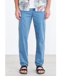 Urban Outfitters Hawkings Mcgill Washed Skinny Stretch Denim Chino Pant