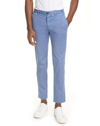Eidos Slim Fit Stretch Cotton Chino Trousers
