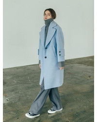 B6cma3004m Oversize Cocoon Wool Coat