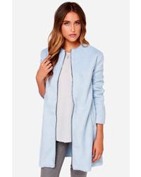 BB Dakota Liezel Sky Blue Coat