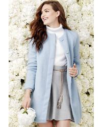 BB Dakota Vianne Light Blue Coat
